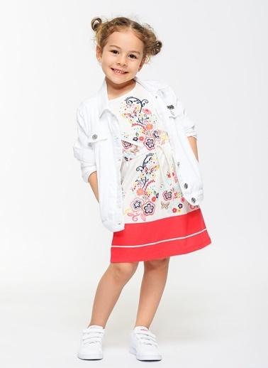 Morhipo Kids Elbise Beyaz